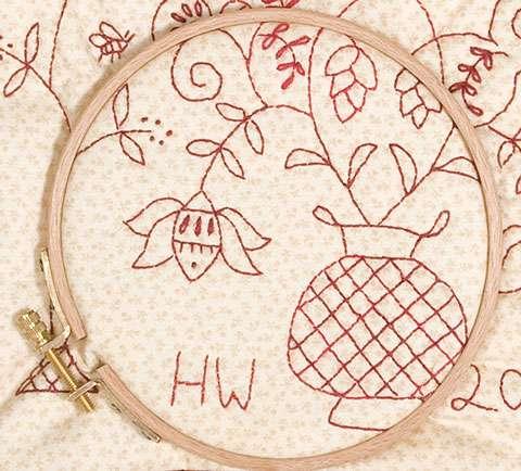 "7"" Wooden Embroidery Hoop"