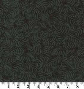 J300 Black on black - ferns