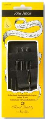 John James Silk Ribbon Embroidery Needles (25ct)