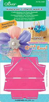 Kanzashi Flower Maker - Round Petal (large) preview