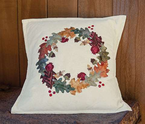 Autumn Wreath Cushion Kitset was $50.50 preview
