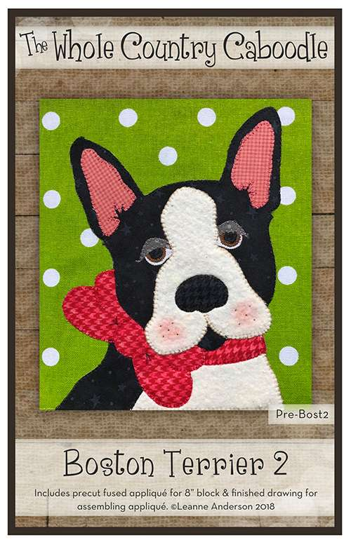 Boston Terrier 2 Kitset - Whole Country Caboodle preview