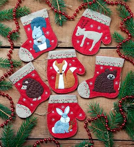 Christmas Critters Ornament Kitset preview