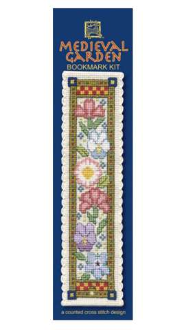 Medieval Garden Bookmark Cross Stitch Kit