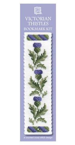Victorian Thistle Bookmark Cross Stitch Kit