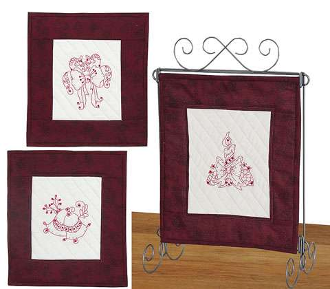 Christmas Stitcheries Trio Kitset