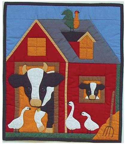 Cow Wallhanging Kitset