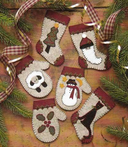 Christmas Woolens Kitset preview