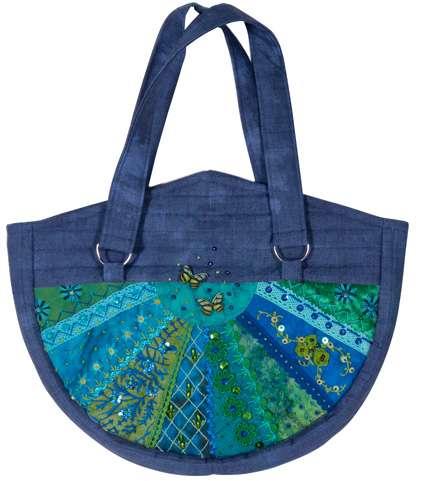 Catherine Wheel Bag Kitset - Blue