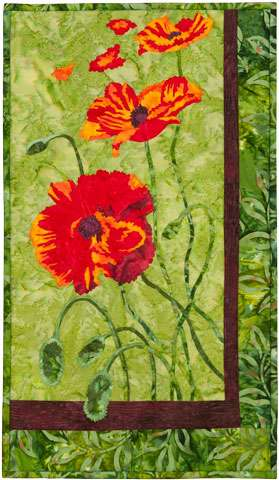 Dancing Poppies Kitset