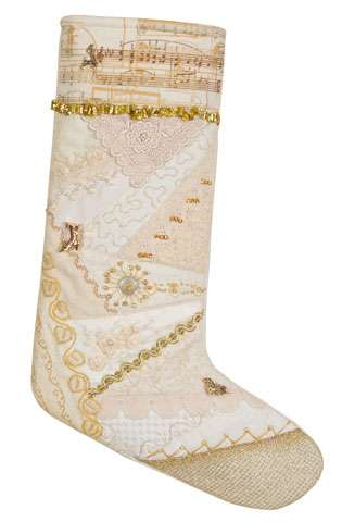 Elegant Christmas Stocking Kitset preview
