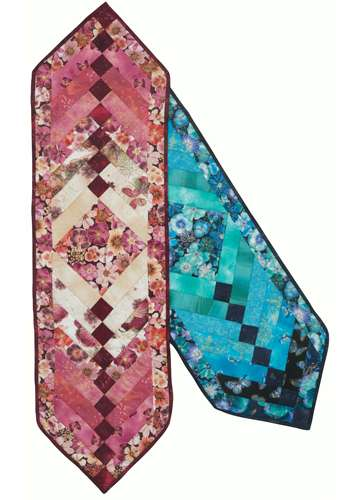 Floral Impressions Braid Table Runner Kitset