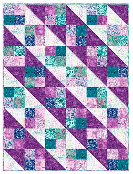 Four Square Bejeweled Batiks Pop Kitset preview