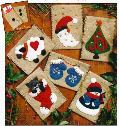 Gift Bag Ornaments Kitset