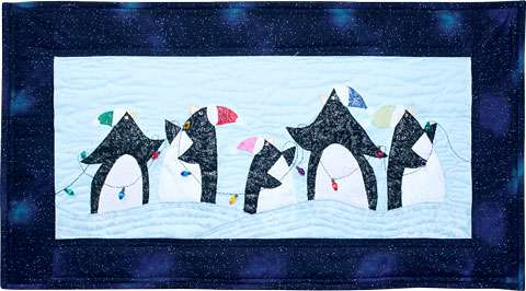 Hanging the Lights (Penguins) Kitset