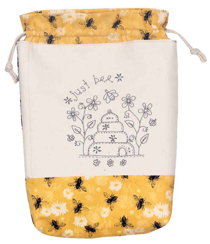 Just Bee Drawstring Bag Kitset