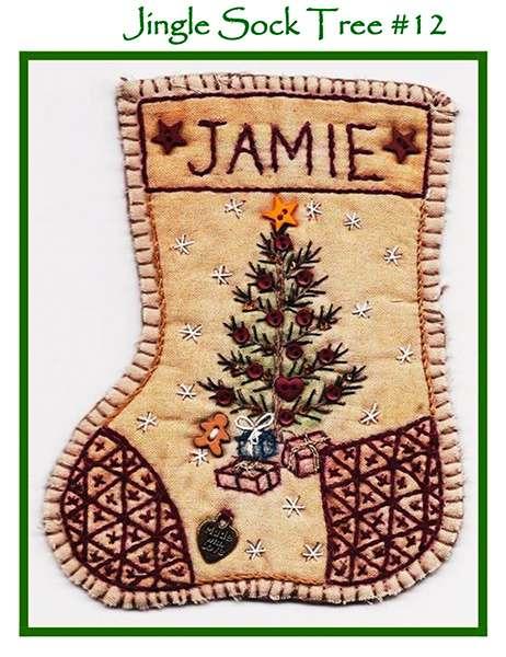 Jingle Sock #12 - Tree preview