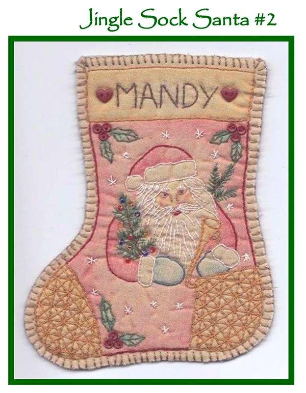 Jingle Sock#2 - Santa preview