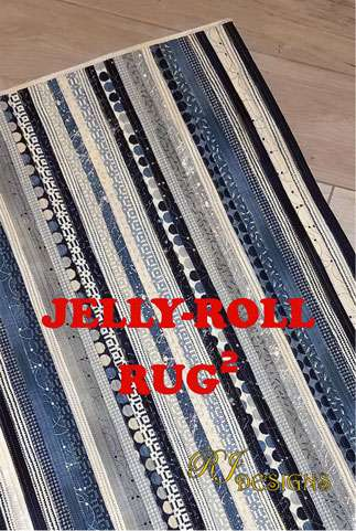 Kiwiana Jelly Roll Rug Kitset preview