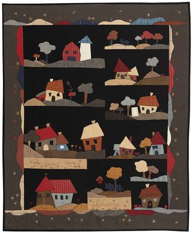 Little Town Flannel Quilt Kitset (New Colours)