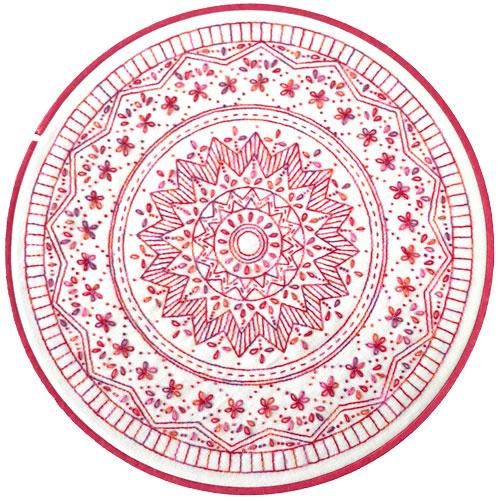 Nikki Tervo Design Large Mandala #6 Kitset preview