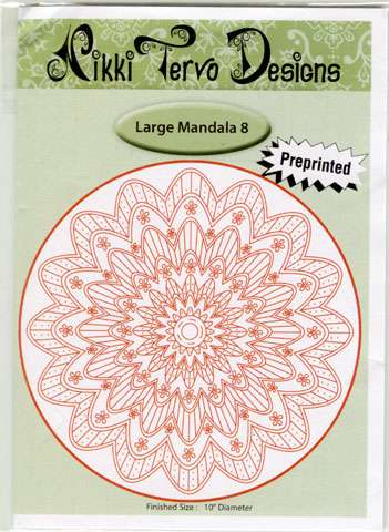 Nikki Tervo Design Large Mandala #8 Kitset preview