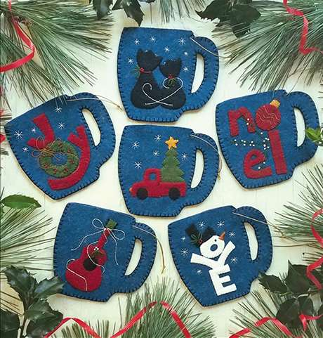Merry Mugs Ornaments Kitset preview