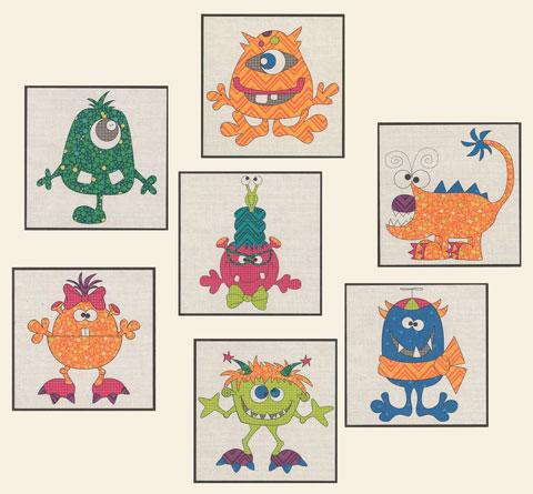 Monsters Precut Kit
