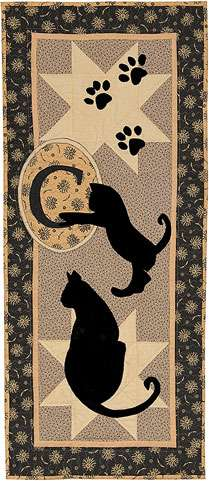 Meow Table Runner Kitset