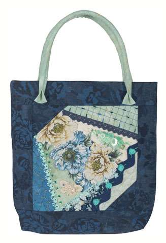 Peonie and Denim Tote Kitset