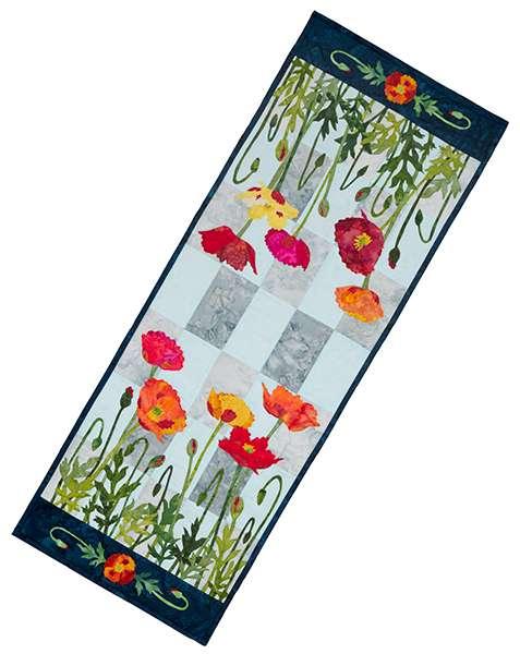 Poppy Patch Table Runner Kitset preview