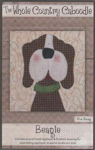 Beagle - Precut Fused Appliqué Pack
