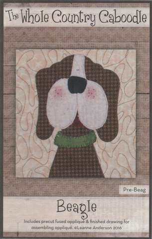 Beagle - Precut Fused Appliqué Pack