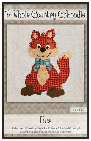 Fox - Precut Fused Applique Pack