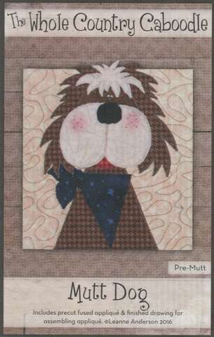 Mutt Dog - Precut Fused Appliqué Pack