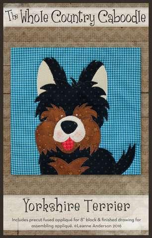 Yorkshire Terrier - Precut Fused Appliqué Pack