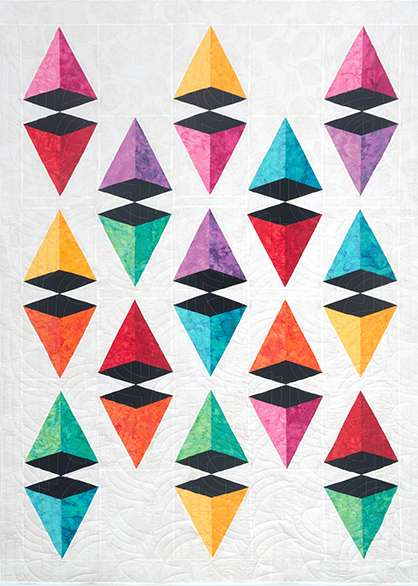 Pyramid Power Quilt preview