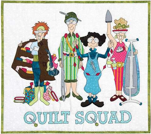 Quilt Squad Kitset Wallhangingskitsets Wallhangings