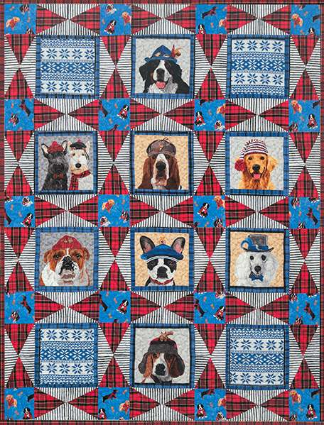 Ruff Life - Dog Quilt Kitset preview