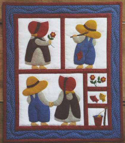 Sue and Sam Wall Quilt Kitset