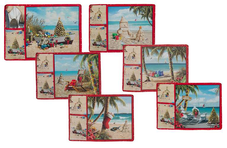 Sandy Claus Placemat Kitset (Set of Six) preview