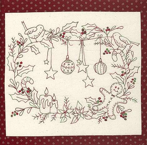 Sweet Christmas Wall Hanging Kitset preview