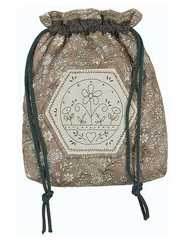 Sunny Days Drawstring Bag Kitset