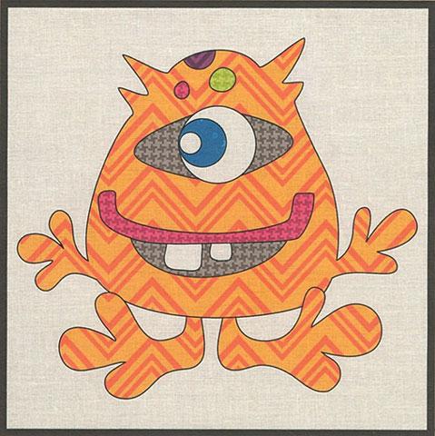 Single Eye Monster Precut Kit