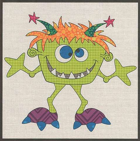 Silly Gilly Monster Precut Kit
