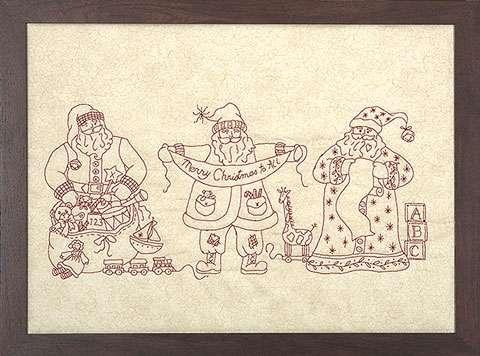 Santa Portrait Trio Kitset