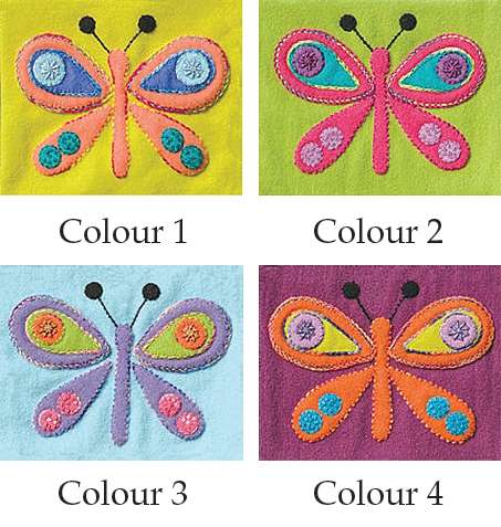Butterfly - Sue Spargo Precut Wool Kits preview