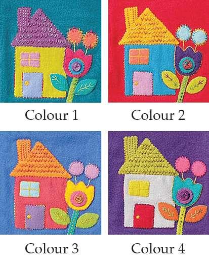 House - Sue Spargo Precut Wool Kits preview