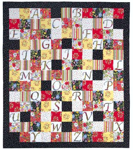 This & That Alphabet Quilt Kitset