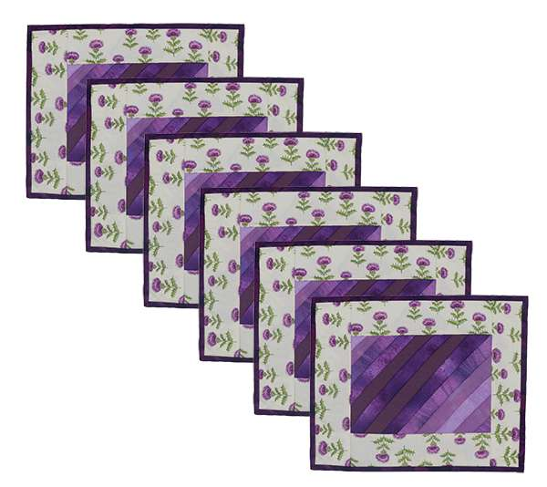Thistle Placemats Kitset - Cream - Set of Six preview